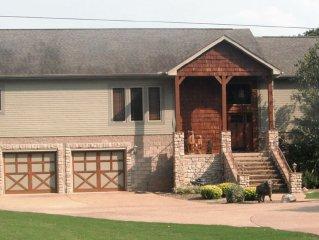 Beautiful brick home with Vista views of White & Buffalo Rivers