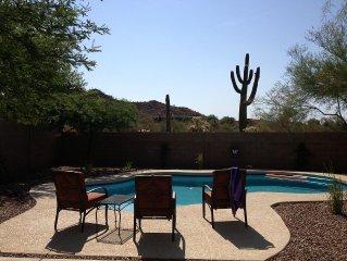 Golf And Sun Await In A Natural Sonoran Desert Setting