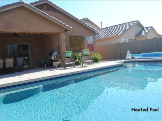 Fantastic 4BR Home with Private Heated Pool in Anthem Arizona!