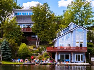 Waterfront Cottage With Live-In Boathouse Fenelon Falls, Sturgeon Lake, Ontario