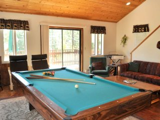 Family Friendly Retreat ~Between Northstar & Kings Beach~