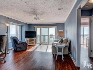 Oceanfront Condo with New Everything Fantastic Views Wifi, TV included