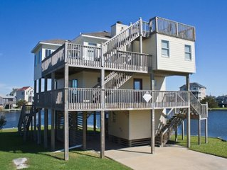 Soundside Waterfront w/ Koru Beach Club, Pool, Gym,  Avon Fishing Pier.  Kayaks