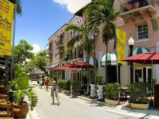 South Beach's Famous Espanola Way!