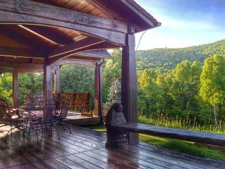 Blue Ridge Mountain Cottage With Stunning Views, Hiking Trails