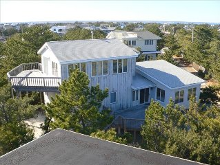 Beautiful Oceanside 5 BR, 3rd home from private Beach, Great Ocean Views