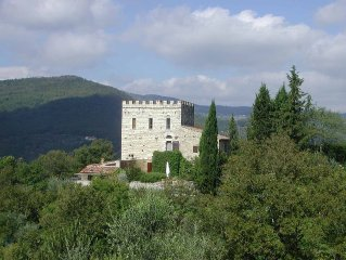 "Chateau-Country House ""La Torre"" Florence Metro-Chianti Region, Ideal Location!"