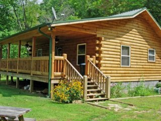 Log Cabin Rental w/Hot Tub, Views near Harrahs Casino, Cherokee & Bryson City NC