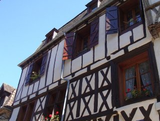 La Dordogne, charming apt. in centre of medieval village, easy walk to the river