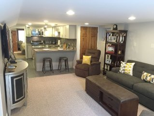Capitol Hill/H Street Area: Modern/Comfy Large 1Br with Private Entrance & Patio
