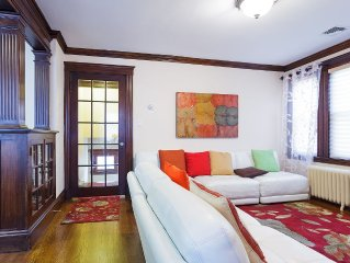 European style 3 Bed/2 Bath close to all (20 min to Back Bay/Copley Sq.)