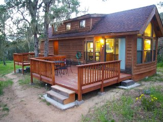 Experience the Tiny House at Carmel Lavender. Off-the-grid living in style.