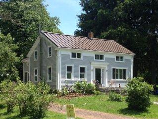 Bear Hill Farm, Delhi NY - Restored 1850 Farmhouse On Winding Country Lane