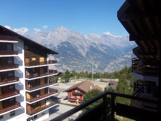 A Great Flat Just By The Ski Slopes In Haute Nendaz Switzerland