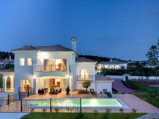 Stunning Frontline Golf Luxury Villa with Private Pool and Gardens