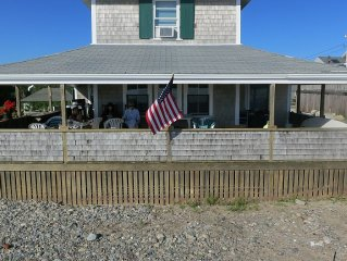 Oceanfront Home on Private Beach in Humarock, MA - Weekly Rentals beginning 5/20