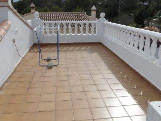 Villa met prive zwembad, rustig gelegen, strand 6 km ,  Denia en Javea 30 min