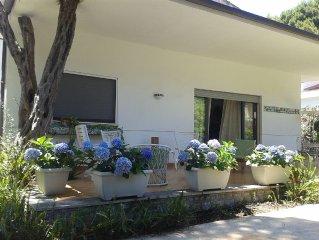Villa Mondello vicino al mare con giardino