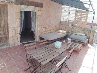 Precioso piso con terraza de 25 m2 ideal familias