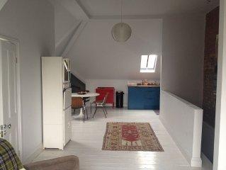 unique,New York Loft style,artistic open plan studio flat