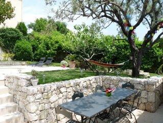 Villa azureenne avec piscine