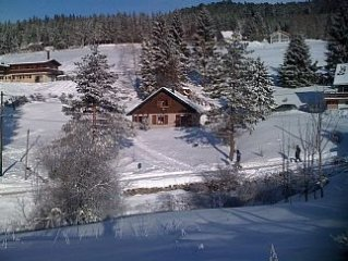 Charming chalet in unspoilt peaceful mountain location.