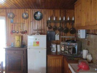 Maison de village  avec tres belle vue sur les montagnes et lac de Serre Poncon.
