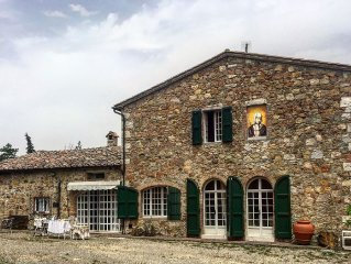 Your Villa in Val d'Orcia!