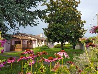 Porzione di villetta con ampio giardino in zona tranquilla di Padova
