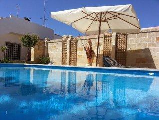 LECCE casalabate villa con piscina privata sul mare a soli 15 km da LECCE