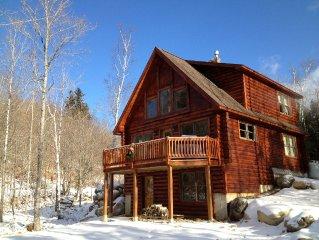 Beautiful new Log Home - Sugarloaf
