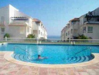 Las Fuentes de Nerja LUA1-1F Two bedroom apartment. Torrecilla beach side