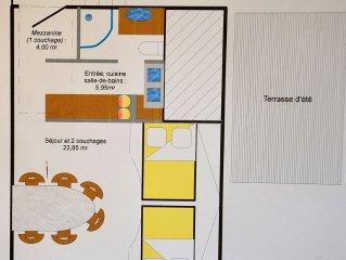 Studio cosy en Haute Tarentaise