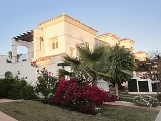 Villa Overlooking The Golf Course In A Quiet Location