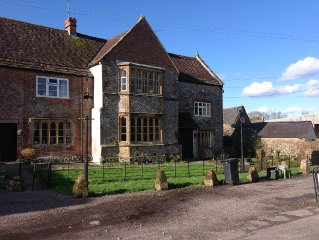 Beautiful 14th Century Manor House & Gardens in perfect  Westcountry setting
