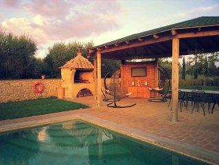 Puccini - a pochi km da Siena immerso nella natura con piscina
