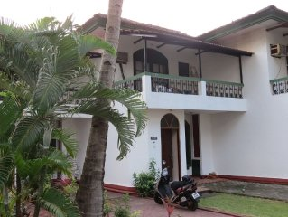 Villa Prabha in South Goa - Tranquil beachside villa with pool