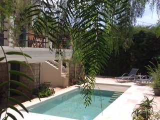 4-Room Apartment in Nice authentic style villa with swimming pool