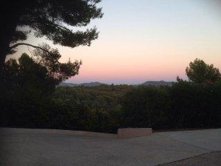 Maisonnette +piscine part. en Provence  au pays de Marcel Pagnol