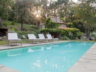 Murella, a beautiful villa in the woods of Montemarcello