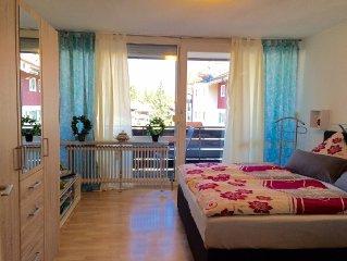 Klein und Fein: Wohnung für Zwei mit Balkon und Blick auf den Hochgrat