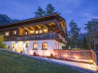 Exclusiv Appartement - Ferienwohnung - Landhaus Alpbach - Tirol- Idyllische Lage