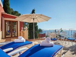 Gemutliches Apartment auf Mallorca mit grosser Privat-Terrasse und Meerblick