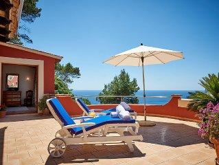 Stilvolles Apartment auf Mallorca mit grosser Privat-Terrasse und Meerblick