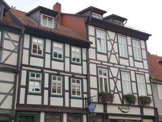 2-Zimmer-Wohnung im Herzen von Quedlinburg mit kostenfreien Parkplatz