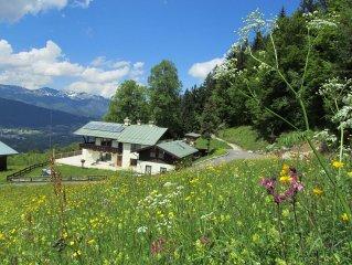 Bergpanorama mit Blick ins Tal 3
