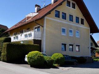 Zentrumsnahes Apartment mit schoner Terrasse und Blick auf den Untersberg