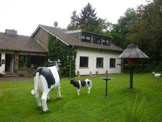 Urlaub in der Eifel - Schone, 77qm grosse, ruhige Ferienwohnung in Nettersheim