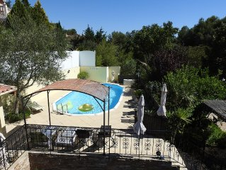 Villa with pool and garden in Ceyreste 13. Ceyreste, Provence-Alpes-Cote d'Azur