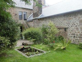 Maison19 eme , atypique et contemporaine,en Bretagne Romantique